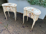 Antique Chinoiserie Bedside Cabinets