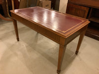 Antique English Mahogany Writing Table/Desk