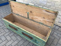 Antique English Naval Chest