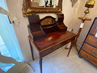 Late Victorian mahogany ladies writing table