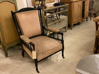 Antique Victorian Arts and Crafts armchair