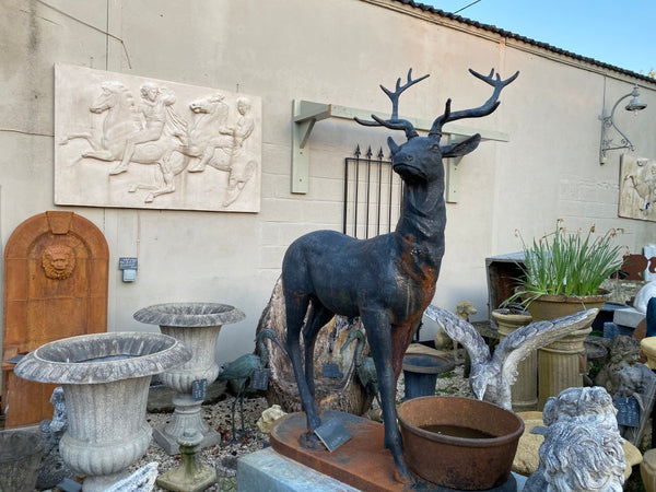 Cast iron stag