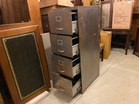 Vintage four Drawer Filing Cabinet