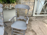 Vintage set of dining chairs