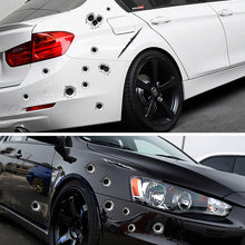 Load image into Gallery viewer, 3D bullet hole vinyl decals