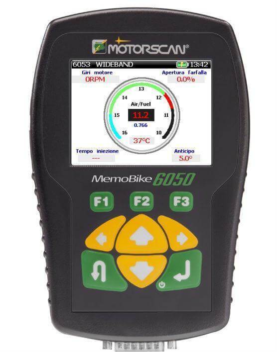 Motorcycle & ATV Diagnostic Scan Tool in Shock Absorbing Case and Software (Motorscan 6050R17) - ANSED Diagnostic Solutions LLC