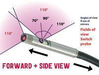 4.9mm Dual Camera Front & Side View Probe (P/N 49SW) - ANSED Diagnostic Solutions LLC