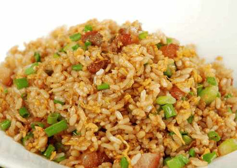 FRIED RICE WITH CHAR SIEW