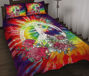 TIE DYE HIPPIE FLOWER - Bedding Set