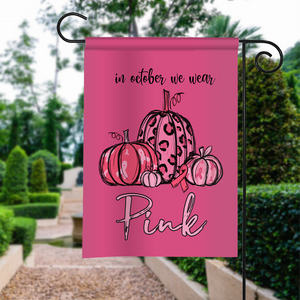 Breast Cancer Awareness 4, Halloween Garden Flag, House Flag