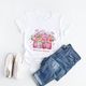 Hope Flower Breast Cancer Awareness - T Shirt