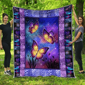 BEAUTIFUL BUTTERFLY - Quilt