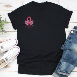 Pink Ribbon Breast Cancer Awareness - T Shirt