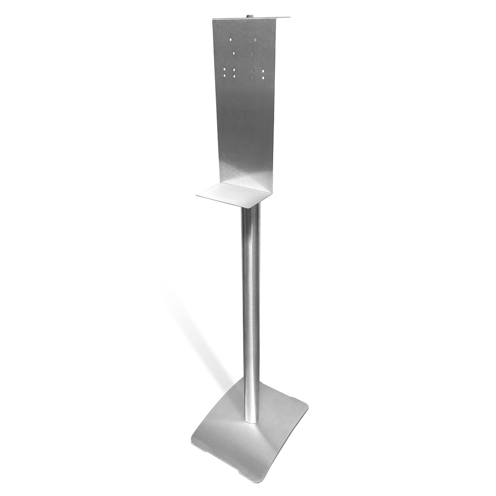 "48"" Universal Hand Sanitizer/Soap Dispenser Stand (SINGLE)"