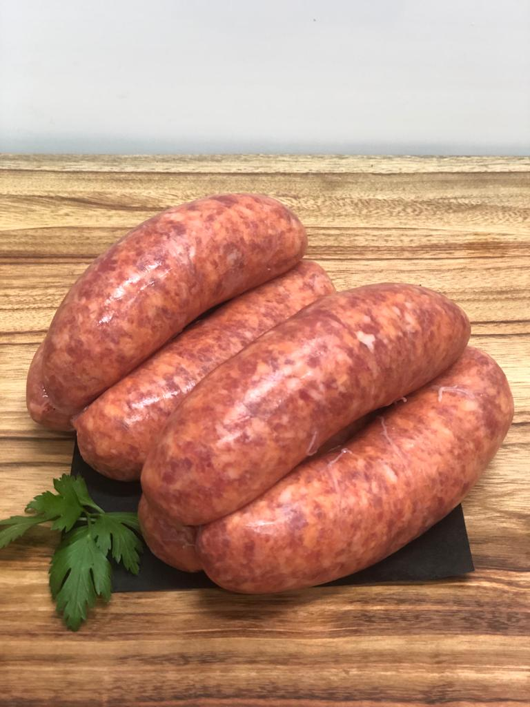 Traditional Beef Thick Sausages (price per 6 pack)