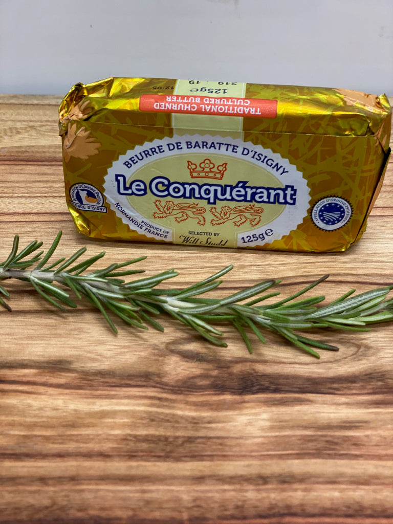 Le Conquerant Salted Butter 125g
