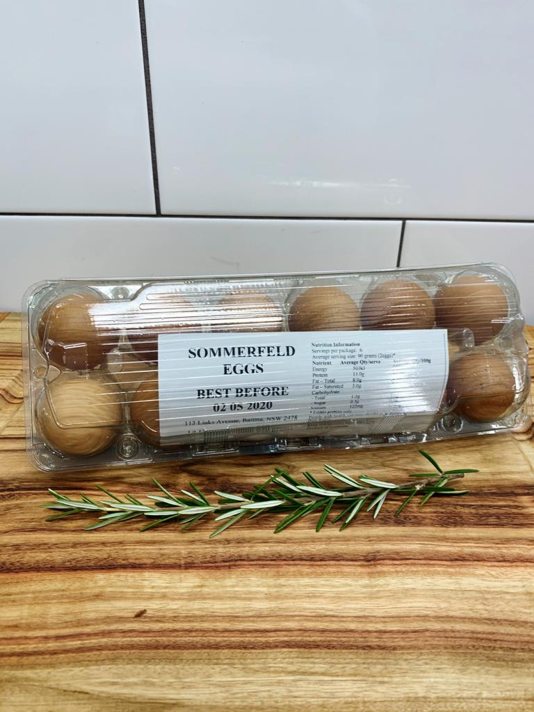 Sommerfield Eggs 1 dozen