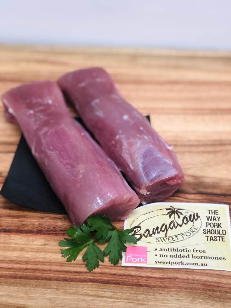 Bangalow Sweet Pork Fillet (min 250g each)