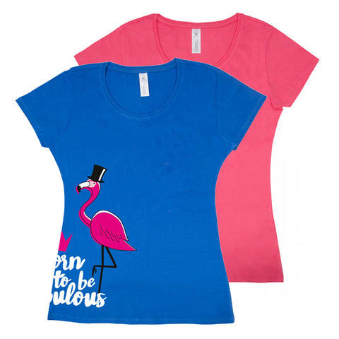 "PFIFF T-Shirt ""Fabulous Flamingo"""
