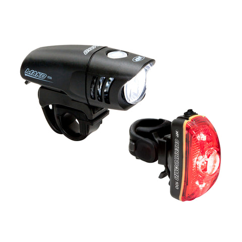 NiteRider Mako 250 LED Headlight + Combo