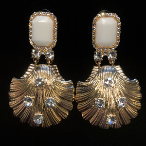 BAROQUE SHELL EARRINGS