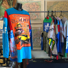 Load image into Gallery viewer, A PATCHWORK TARMAFIA TEE WITH ROAD RACE PRINT