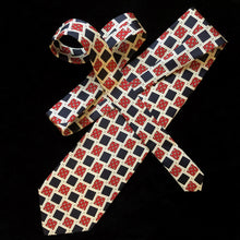 Load image into Gallery viewer, VINTAGE 90s CHRISTIAN DIOR TILE PRINT TIE