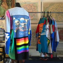 Load image into Gallery viewer, A PATCHWORK TARMAFIA TEE WITH RAINBOW STRIPE