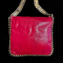 Load image into Gallery viewer, A RARE LATE 1960s CHAIN LINK AND LEATHER BAG BY PACO RABANNE