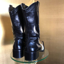 Load image into Gallery viewer, A PAIR OF EARLY 2000s RUNWAY BOOTS BY DSQUARED2