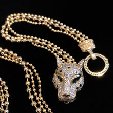 Load image into Gallery viewer, A BIG CAT DIAMANTÉ AND CHAIN COLLECTION