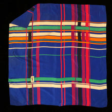 Load image into Gallery viewer, A LARGE VINTAGE 80s SILK SCARF BY YSL
