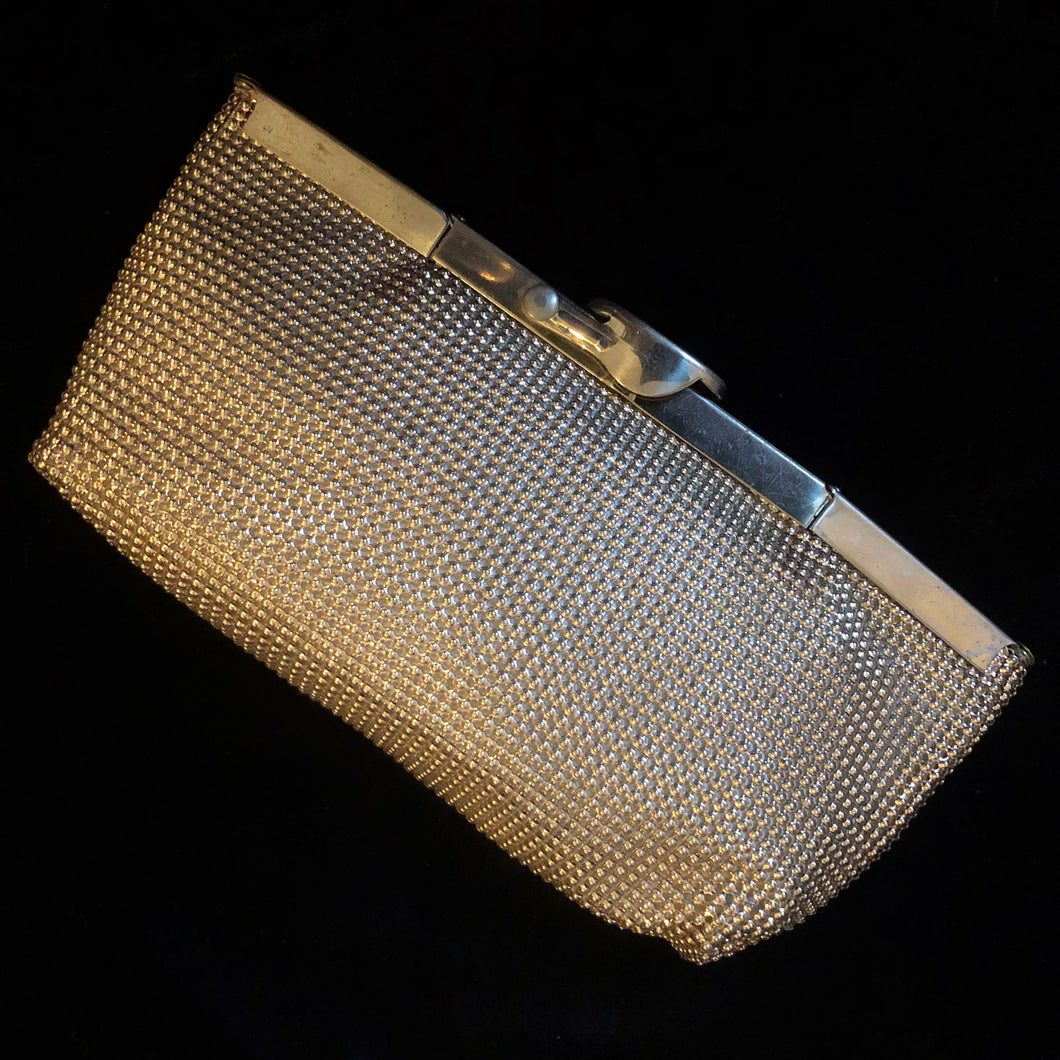 AN INGENIOUS METAL MESH PURSE BY WHITING AND DAVIS