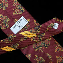Load image into Gallery viewer, VINTAGE 1990s VALENTINO TIE WITH BUTTERFLY PRINT