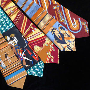 A SEVENTIES-DECO TIE PICTURE COLLECTION