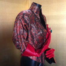Load image into Gallery viewer, A VALENTINO 80s COPPER BROCADE JACKET