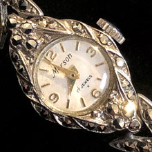 Load image into Gallery viewer, A 1950s DAINTY MARCASITE WATCH