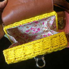 Load image into Gallery viewer, BASKETWEAVE MINI CASE BAG