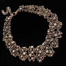 Load image into Gallery viewer, AN UNDER-THE-SEA PEARL MOSAIC NECKLACE