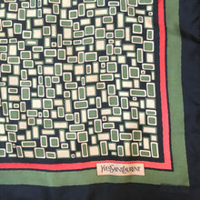 Load image into Gallery viewer, A 1970s VINTAGE YVES SAINT LAURENT SCARF