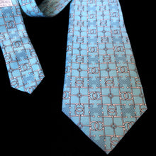 Load image into Gallery viewer, A VINTAGE TURQUOISE HERMES SILK TIE