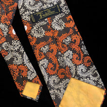 Load image into Gallery viewer, A CLASSIC 1970s EMILIO PUCCI FEATHERS PRINT SILK TIE