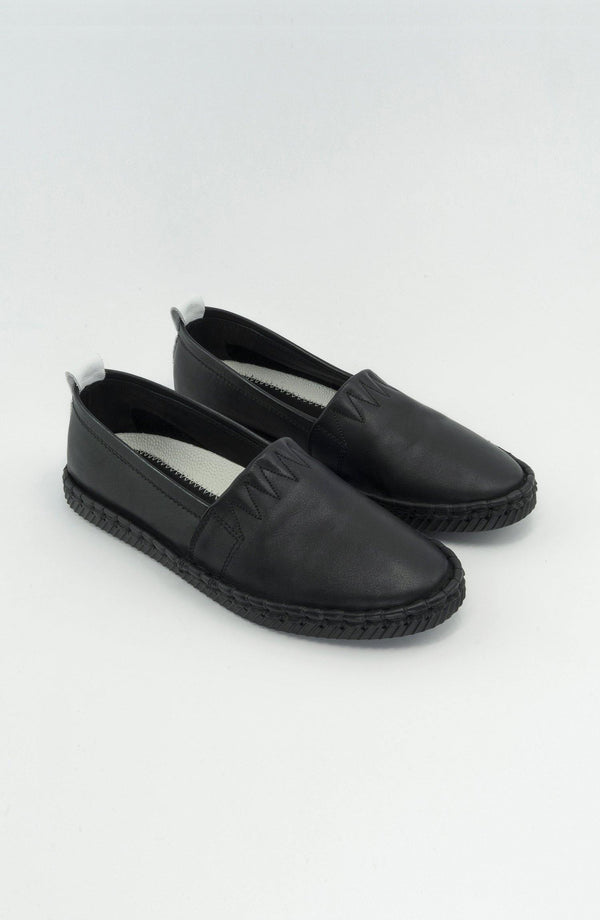 "Apas Nappa ""Black"" - Chaaya Shoes® Luxury Worldwide Brand"