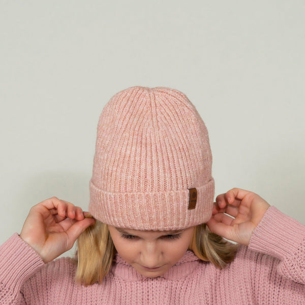 "Nika Wooly Hat ""Rose"" - Chaaya Shoes® Luxury Worldwide Brand"