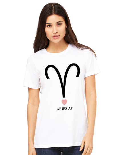 Aries AF Tee - Direct Embroidery