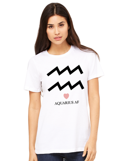 Aquarius AF Tee - Direct Embroidery