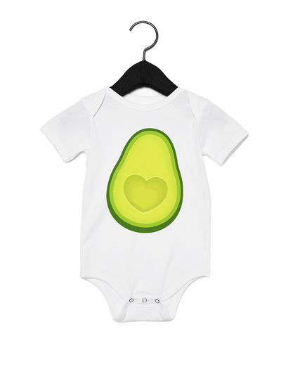 Avocado BFF Onesie - Direct Embroidery