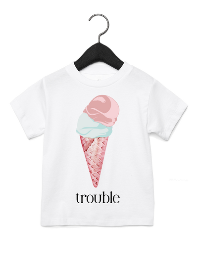 (Double) Trouble Tee - Direct Embroidery