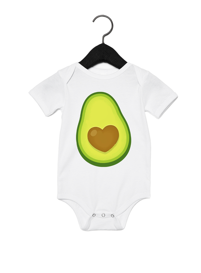 Avocado Pit BFF Onesie - Direct Embroidery