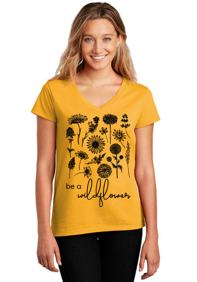 Be a Wilflower Tee - Direct Embroidery